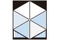 センター支柱タイプ6角形