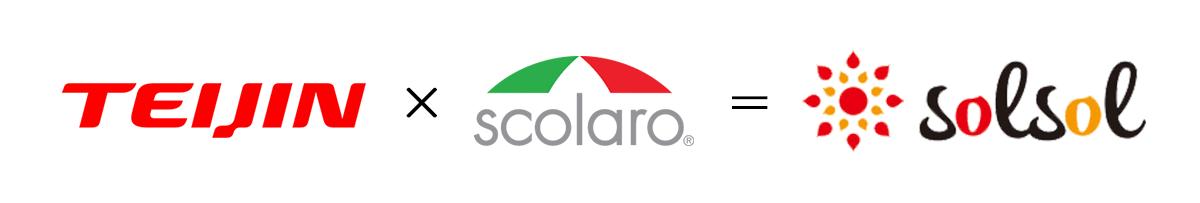 Scolaro x TEIJIN = solsol